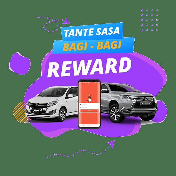 Reward Aplikasi Tante Sasa